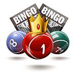 Bingo med bollar och brickor